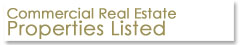 Commercial Real Estate Properties Listed